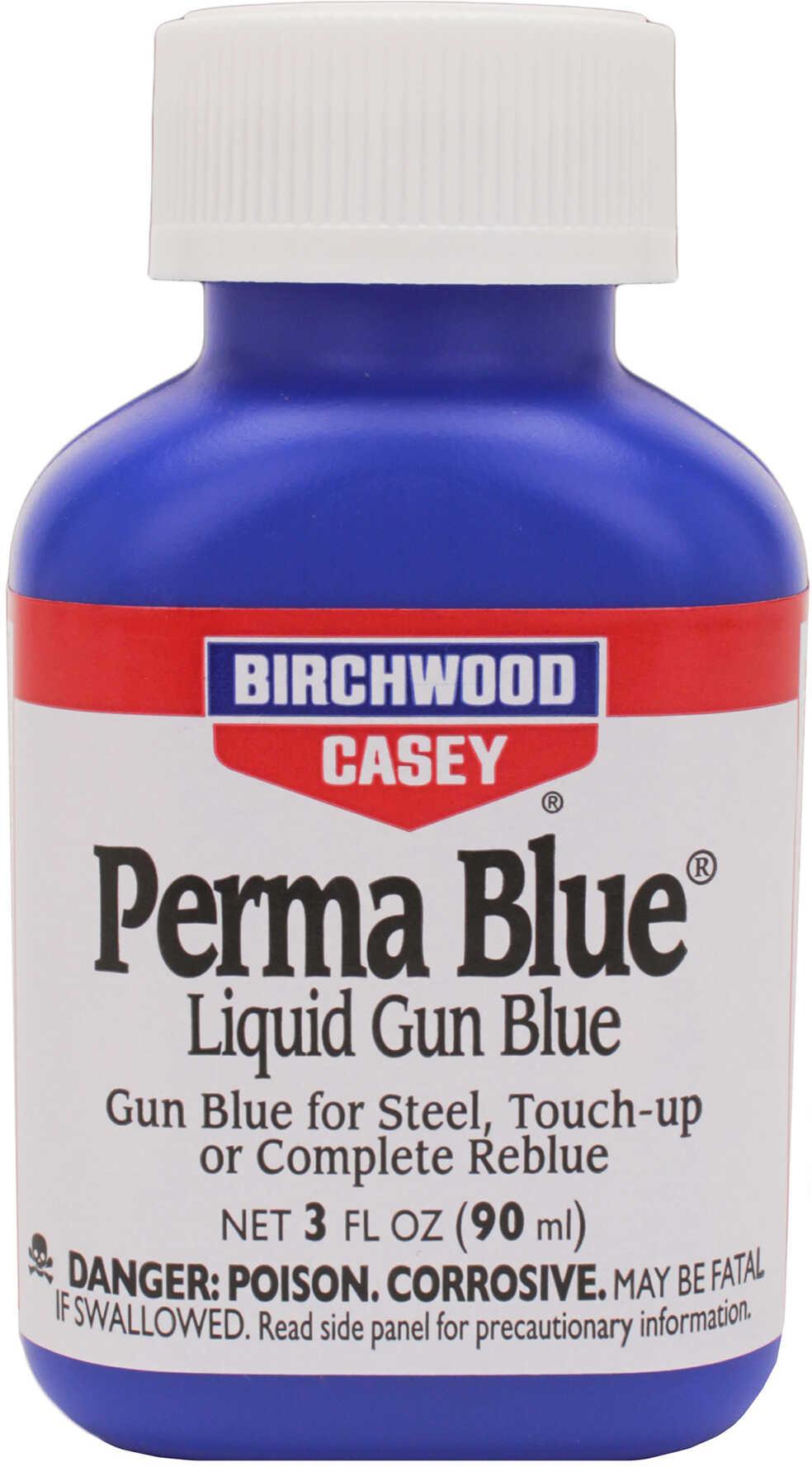 BC PERMA BLUE LIQUID GUN BLUE 3 OZ