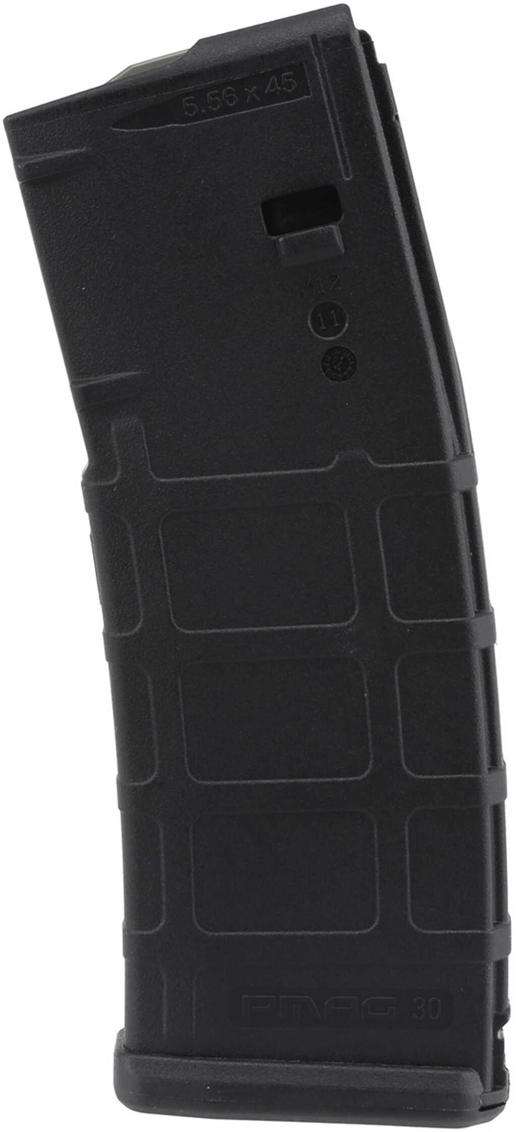 Magpul Mag571-Black PMAG Gen M2 MOE AR-15 223 Rem/5.56 Nato 30 Round Polymer Black