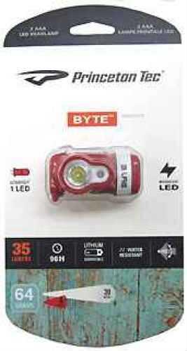 Princeton Tec Byte Red Md: BYT-Rd
