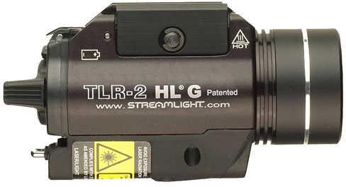 Streamlight TLR-2HL-G Mounted Rail Flashlight w- Green Laser