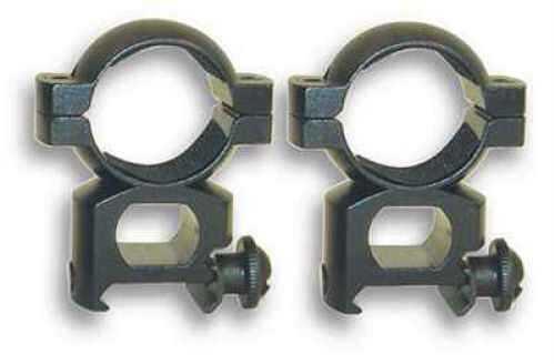 "1"" Rings Weaver, Aluminum, Black, See-Thru Md: Rb11"