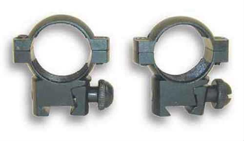 "1"" Rings 3/8"" Dovetail, Aluminum, Black Md: Rb17"