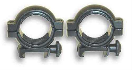 "30mm Rings Weaver, Flat/Stud, 1"" Inserts, Black Md: Rb18/2"