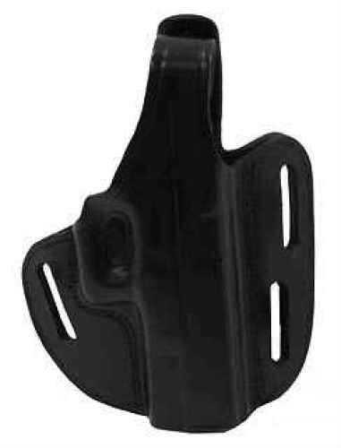 Gold Line 3 Slot Pancake Holster for Glock 19, Black Md: B803-G19