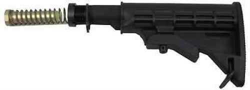 TapCo AR-15 T6 Collapsible Stock, Mil-Spec Black Md: STK09163-Bk