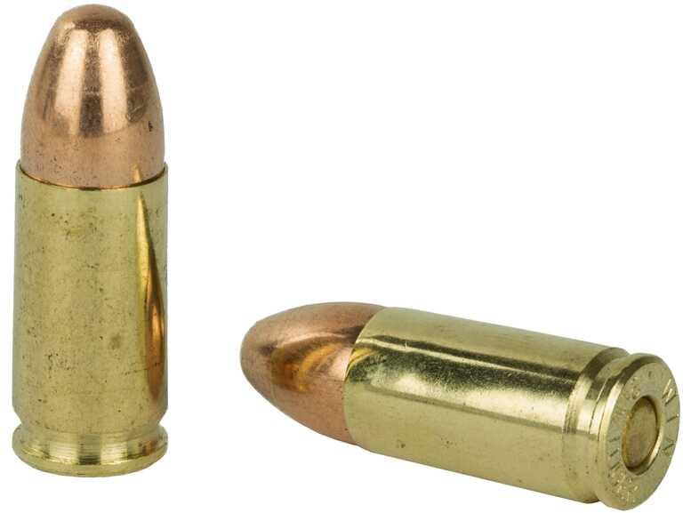 Winchester 9mm Luger 115 Grain FMJ Ammunition 200 Rounds Per Box USA9W