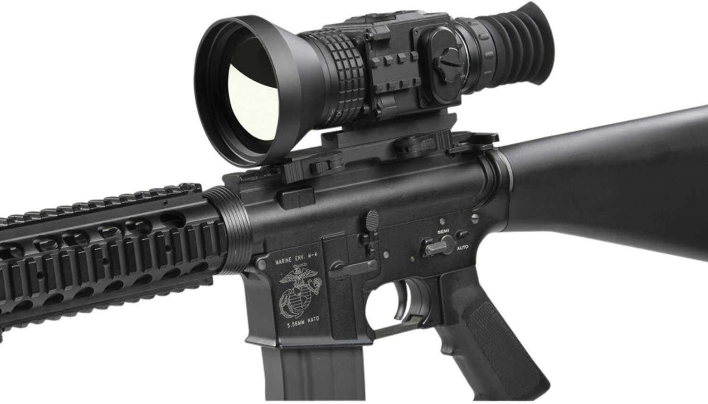 Agm Global Vision 3083455008Se71 Secutor TS75-384 3.6X 75mm 5X3.7 Degrees FOV Black