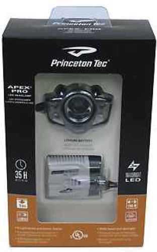 Princeton Tec Apex Pro Black, Led 200 Lumens Md: APXC-Pro-Bk