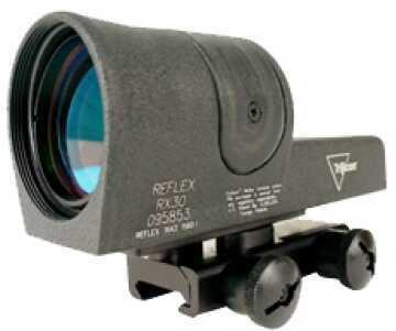 Trijicon 42mm Reflex Amber 6.5 MOA Dot W/Flat Top Md: Rx30-14