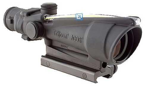Trijicon ACOG 3.5X35 Dual Illuminated Amber Chevron 308 Ballistic Md: Ta11E-A