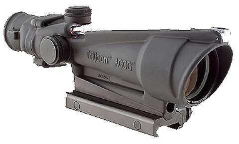 Trijicon ACOG 3.5X35 Dual Illuminated Red Horse Shoe Dot 223 Ballistic Md: Ta11H