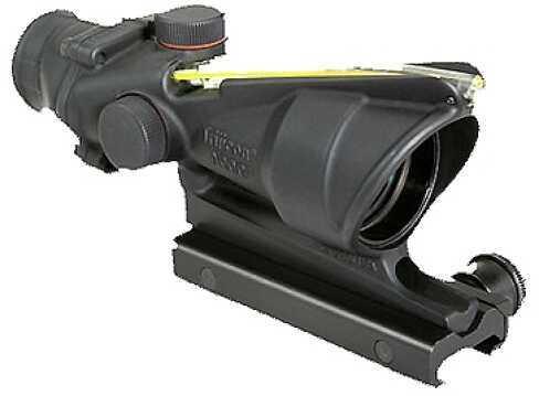 Trijicon ACOG 4X32 Dual Illuminated Amber Chevron 223 Ballistic Md: Ta31F-A