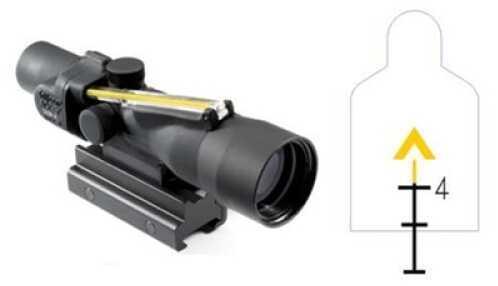 Trijicon ACOG 3X30mm Dual Amber Chevron/308 Ballistic Reticle Md: Ta33-9