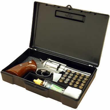 MTM Black Handgun Storage Box