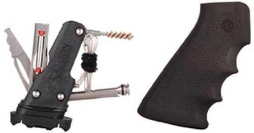 Hogue AR-15 Rubber Grip W/Samson Field Survival Kit Black Md: 15012