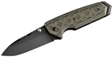 """Hogue Ex02 Folder 4"""" Speer Point Blade Flipper G-Mascus Green Md: 34258"""