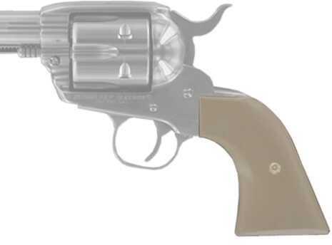 Hogue Scrimshaw Grips XR3 Blackhawk/Vaquero, W Mic Cowboy Pan Md: 79370