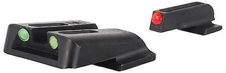 Truglo Fiber Optic Set, Handgun S&W M&P,Sd9 andSd40 Md: TG131MP