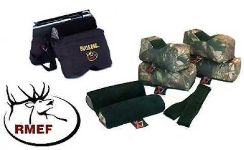 X7 Bulls Bag Advantage (7 Bags) Black/Camo LE Md: M-RMEF0007