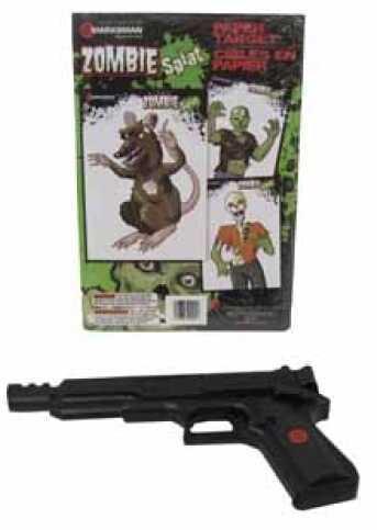 Zombie .177 Single Stroke BB Gun Spring Action, 18 Round Md: 2002Z