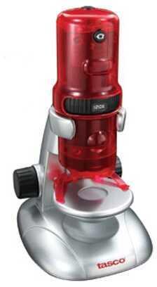 Tasco Digital Microscope Red/Silver 120X Md: 780200T