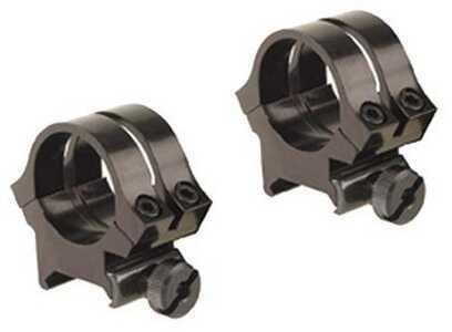 "Weaver Quad-Lock Rings 1"", High, Black Md: 49052"