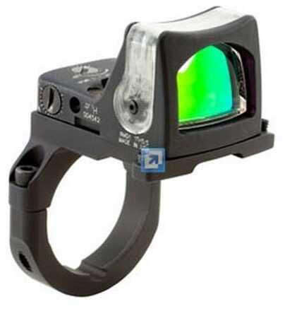 Trijicon RmR Sight Dual Illuminated 12.9 MOA W/Rm38 ACOG Mount Md: Rm08A-38