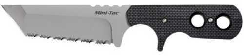 Cold Steel Mini Tac Tanto Serrated W/ Faux G-10 Md: 49HTFS