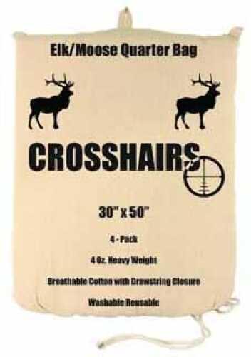 """4 Oz Game Bag 30"""" X 50"""" Elk/Moose Quarter 4-Pack Md: 97014"""