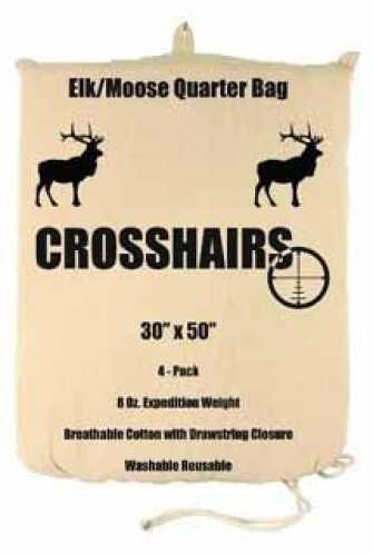 """8 Oz Game Bag 30"""" X 50"""" Elk/Moose Quarter 4-Pack Md: 97018"""