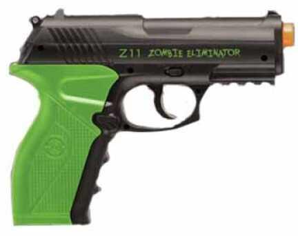 Crosman Zombie Eliminator C02 Pistol Black Md: AMZ11