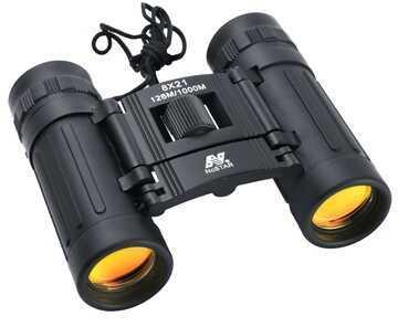 Binoculars 8X21 DCF Black, Ruby Lens Md: BDB821R
