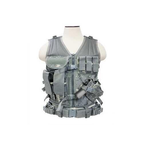 Tactical Vest Digital Camo Md: CTV2916D