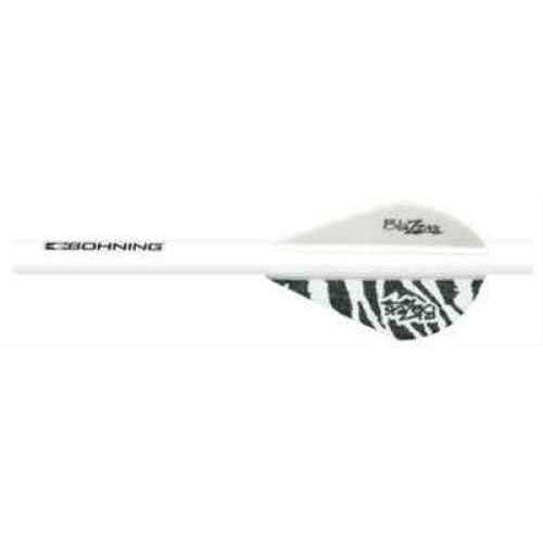 Bohning Blazer Shrink Fletch White Tiger/White