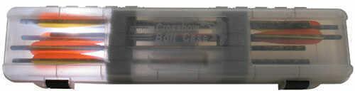 MTM Crossbow Bolt Case 12 Bolts Purple Camo
