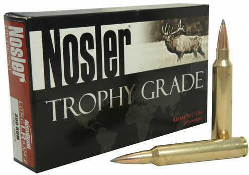 Nosler Ammo 300 Weatherby Magnum 210 Gr Accubond Long Range 20 rds