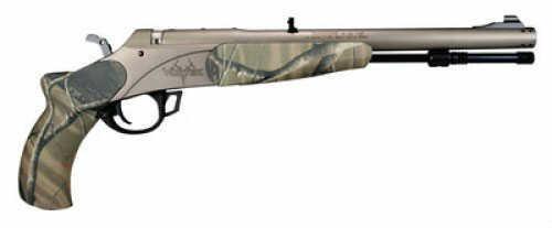 Traditions FirearmsTraditions Muzzleloader Vortek Pistol Camo 50Cal Fiber Optic Sights Realtree AP