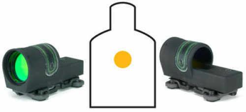 Trijicon 42mm Reflex 4.5 MOA Dot Reticle W/ A.R.M.S. #15 Throw Lever Flattop / Weaver Mount Rx34-23