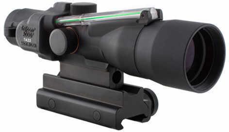 Trijicon ACOG 3X30 High Green Horshoe Dot 223 Ta60