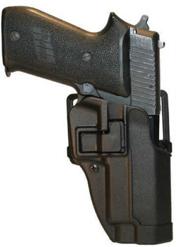 Blackhawk Matte Black Serpa Belt & Paddle Holster Sig 220/226, Right Hand Md: 410506Bk-R