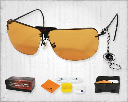 RadiansRadians RSG-3 Glasses Clear, Orange & Amber Lenses Interchangeable RSG-3LK