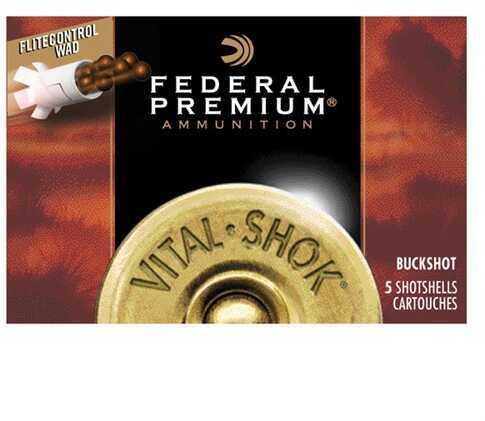 Federal Vital Shok W/ Flitecontrol 12 Gauge 2.75'' 9 Pel #00B 5/Bx