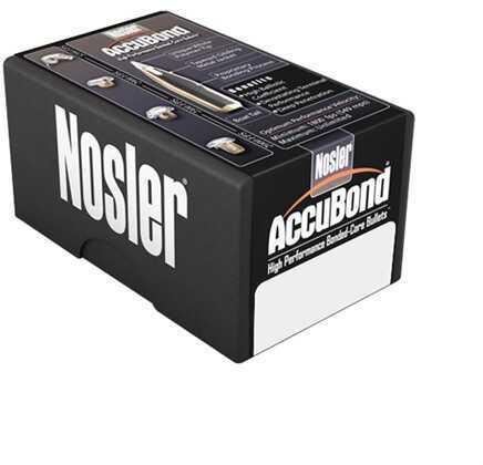 Nosler Accubond Bullets 9.3mm 250 Grains Spitzer W/ Cann. 50/Bx
