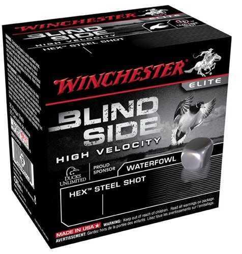 Winchester Blind Side HV 12 Gauge 3'' 1-1/8Oz #BB 25/Bx (25 rounds Per Box)