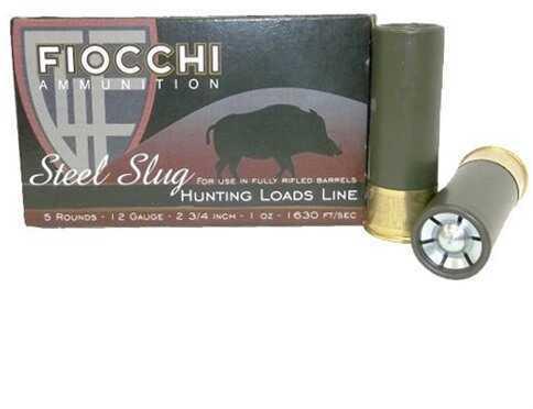 Fiocchi HV Sabot Steel 1Oz Slug 2.75'' 5/Bx