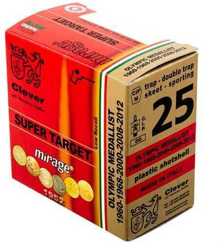 Clever Mirage Super Target 410 Gauge 1/2 Ounce #8 Shot Shotshells, 250 Per Case