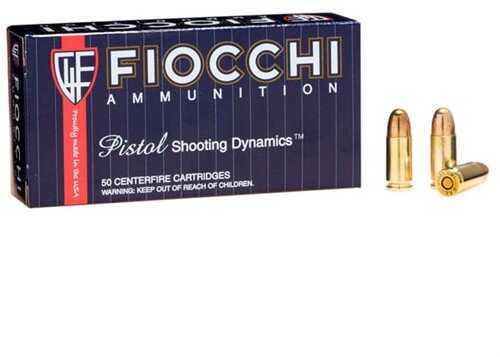 Fiocchi Ammo 9mm 158 Grain FMJ (Per 50) Md: 9Ape