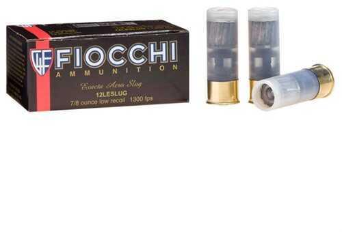 Fiocchi Aero Slug Low Recoil 12 Gauge 2.75'' 7/8Oz 10/Bx (10 rounds Per Box)