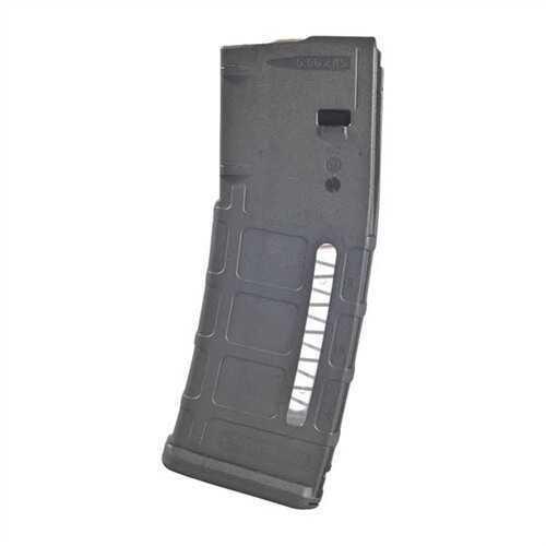 Magpul Mag570-Black PMAG Gen M2 MOE Window AR15/M4 5.56 Nato/.233 Remington 30 Rd Round Polymer Black