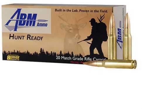 Abm 308 Winchester 168 Grain Berger Match Classic Hunter Ammunition, 20 Rounds Per Box